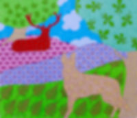 Gatsby the dog is seen in his favourite park by Grace Palmieri