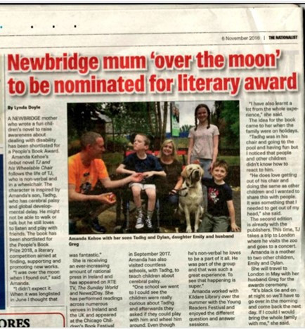 Article in the Nationalist Newspaper about awards