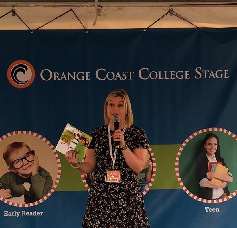 Orange County Children's Book Festival - middle grade stage