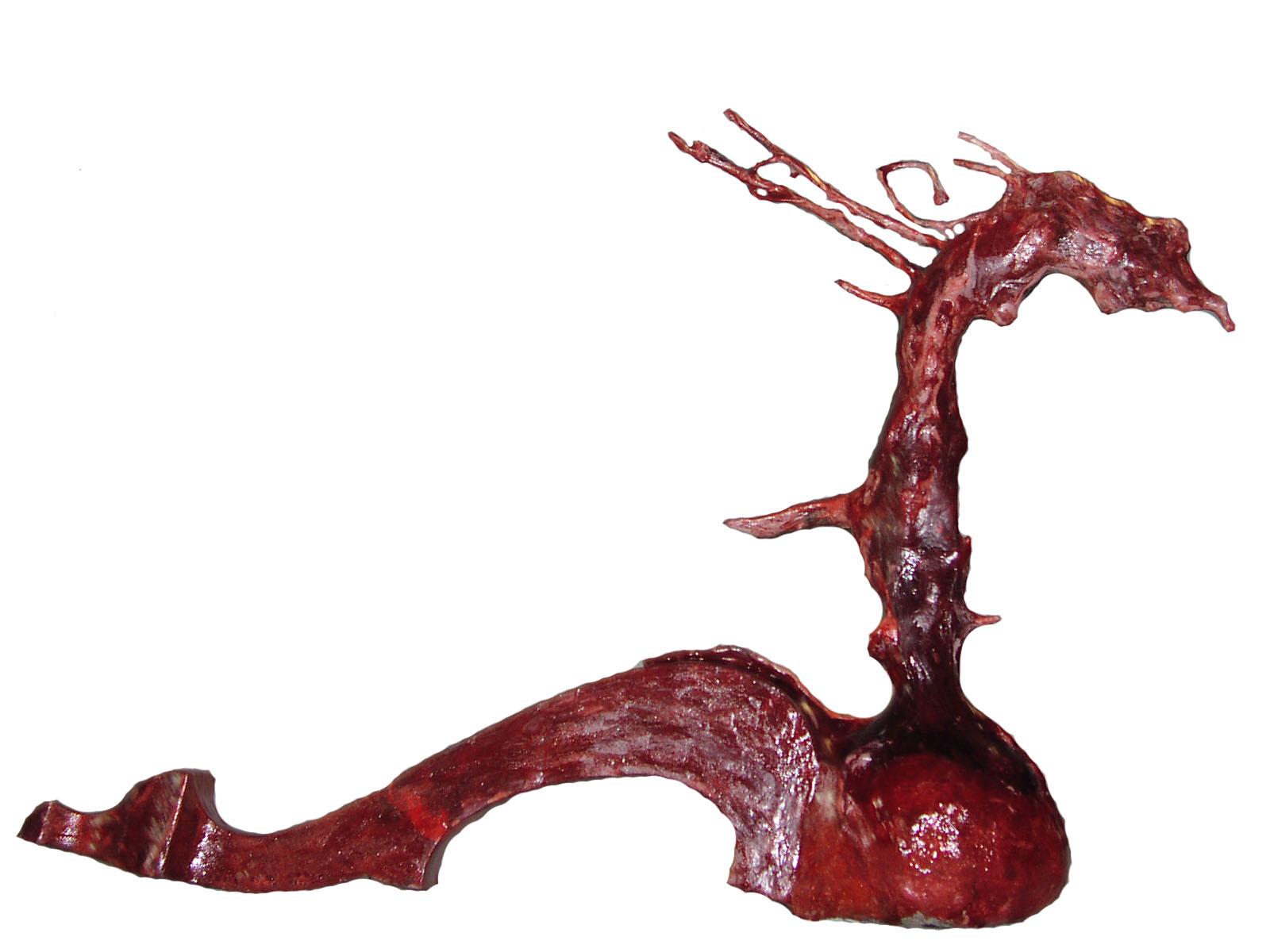 Dragona preñada