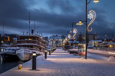 Savonlinnan Matkustajasataman jouluvalot