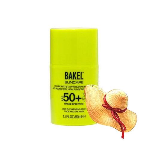 Bakel Sun Cream Face SPF 50+