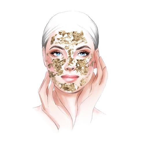 Revitalizing Gold Mask
