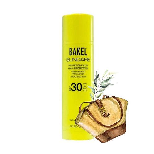 Bakel Sun Cream Face & Body LSF 30
