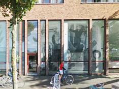 Foto's naamgevers wijk in straatbeeld