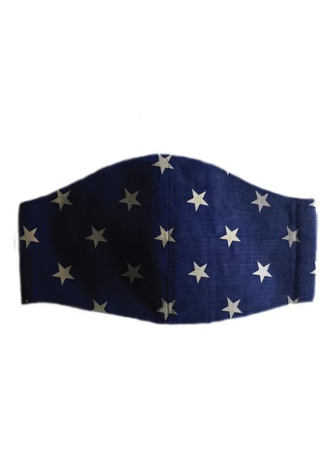 Protective Mask - Stars Blue