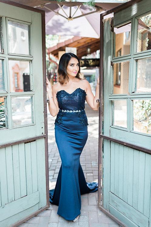 Mermaid Lace Corset Dress