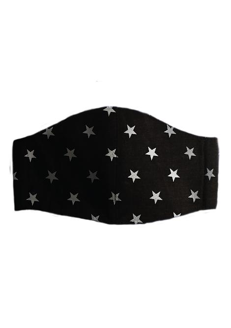 Protective Mask - Stars Black