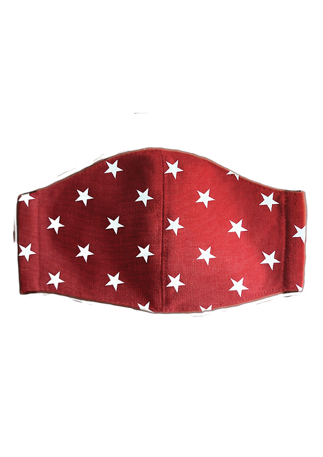 Protective Mask - Stars Red