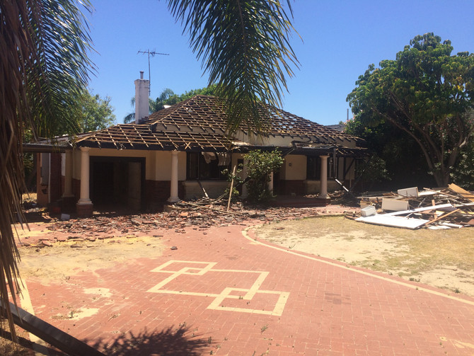 House demolition and site clear, Waratah rd, Dalkieth.  $17800