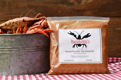 Rouxdaddy's Gourmet Champion-chip Crawfish Boil (3.5 lbs.)