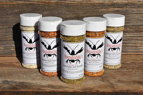 Rouxdaddy's Complete Seasoning Pack