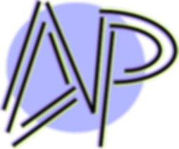 AP logo purple green