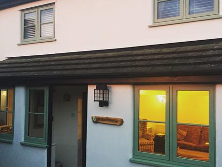 Cottage style PVC casement windows