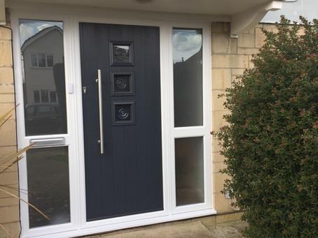 Contemporary style door