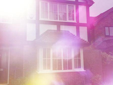 PVC casement windows