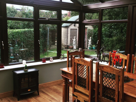 Bright and spacious conservatory