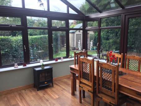 Add extra space in your home with a double glazed conservatory that you can use throughout the year