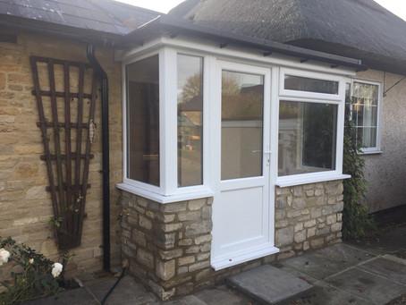 Bespoke porch design & build