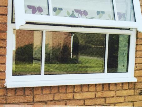 PVC mock sash window