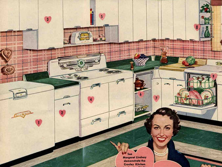 """""""Live the dream in the Kitchen you always wanted, by Crosley"""""""