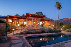 Nestled up in the Catalina Mountains