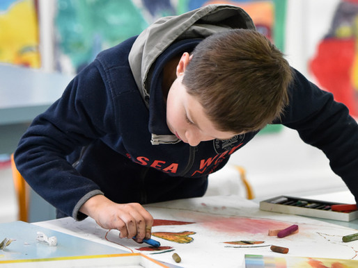 Stage pour enfants de 6 à 8 ans : Dessin, peinture, collage.. du lundi 22 au vendredi 26 février