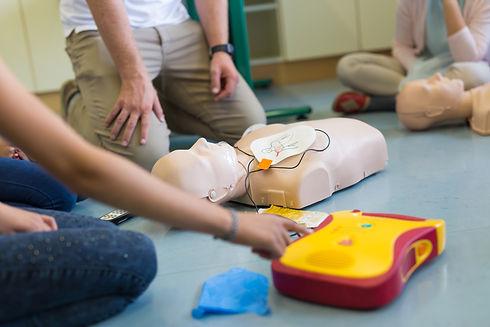 First aid cardiopulmonary resuscitation