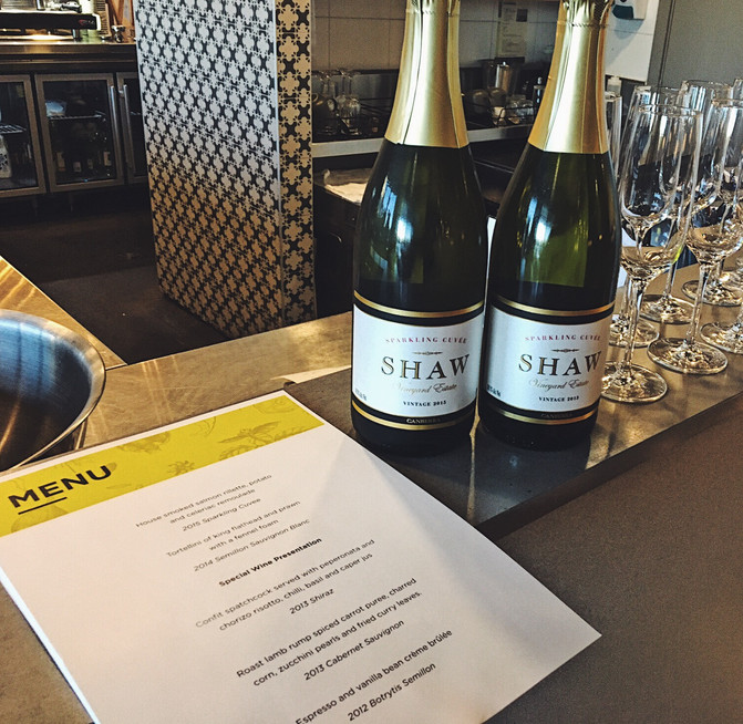 No. 10 Restaurant + Bar and Shaw Vineyard Wine Dinner