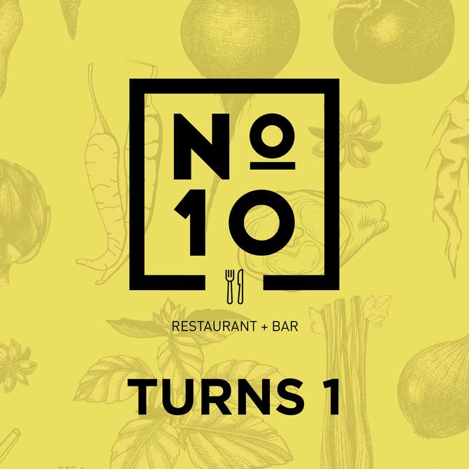No.10 turns 1