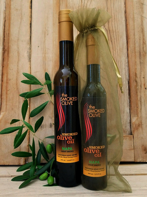 NAPA Smoked Olive Oil      (light smoke)  375 ml/TALL