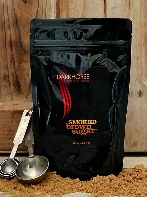 SMOKED Brown Sugar, resealable 8 oz pouch