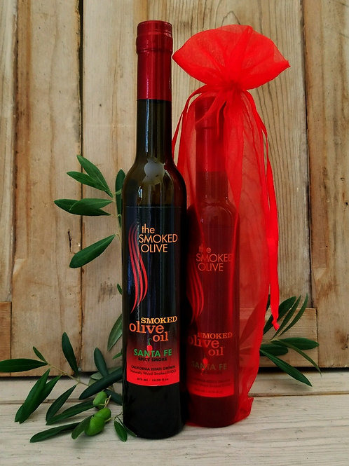 SANTA FE Smoked Olive Oil (spicy smoke)  375 ml/TALL