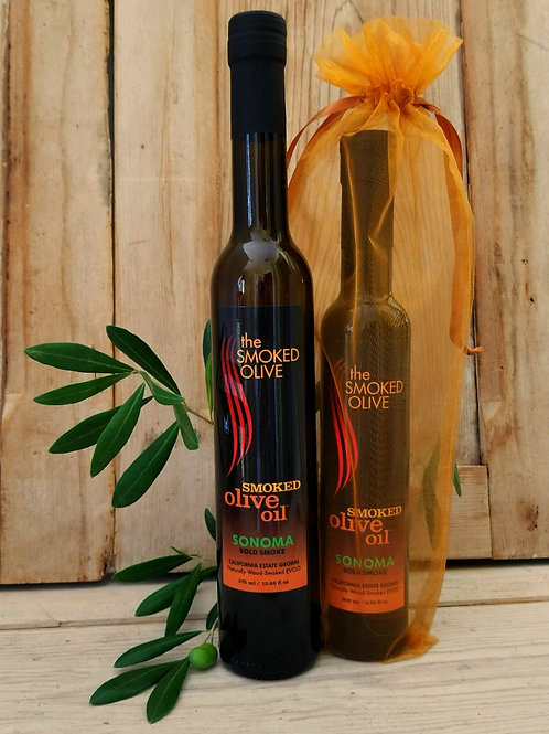 SONOMA Smoked Olive Oil  (bold smoke)  375 ml/TALL