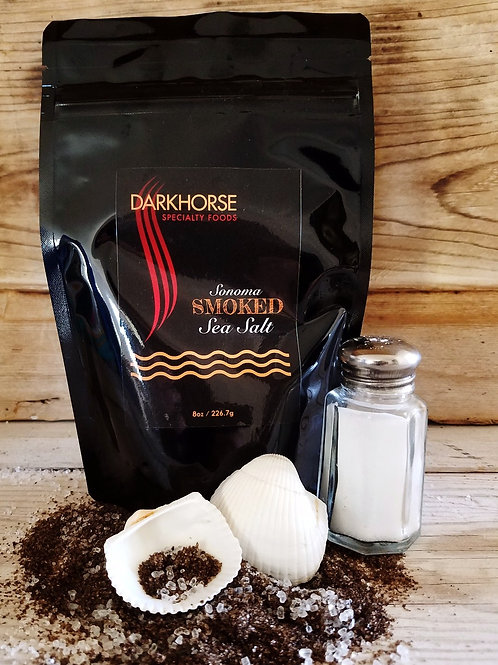 SONOMA Smoked Sea Salt - 8 oz. resealable pouch