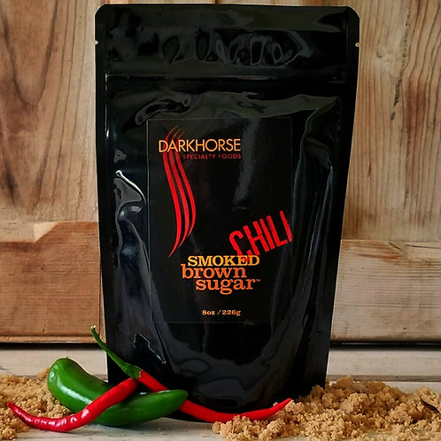 CHILI Smoked Brown Sugar,  resealable  8 oz pouch