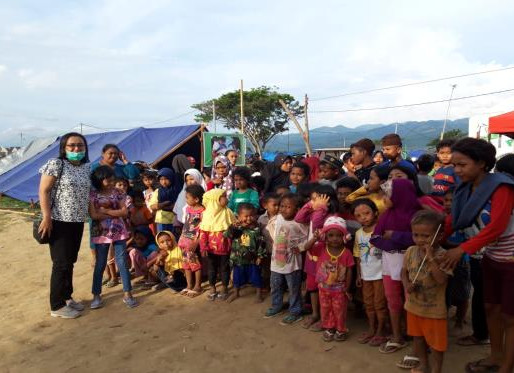 Sulewesi, Indonesia Disaster Relief.