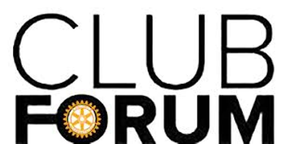 RCM Zoom Meeting - Club Forum