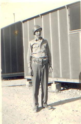 Richard at Barracks 1945