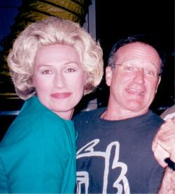 Darlene with Robin Williams