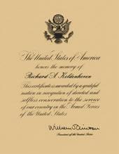 Presidential Letter