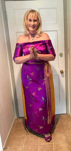 Hall of Fame Gown I made at home