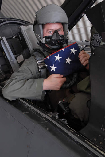 Major Andy in F-16