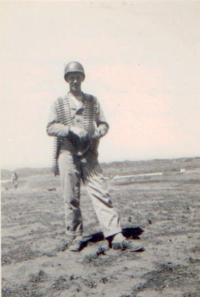 1945 50 Cal Amunition Firing Range