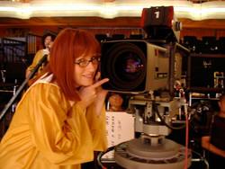 """Darlene on Set of """"Studio 60"""""""