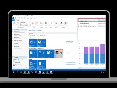 Video 1: Jak vypadá Windows klient Business Centralu