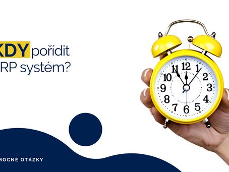 Kdy pořídit ERP systém?
