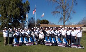 The 2018 Veterans' Golf Program Team