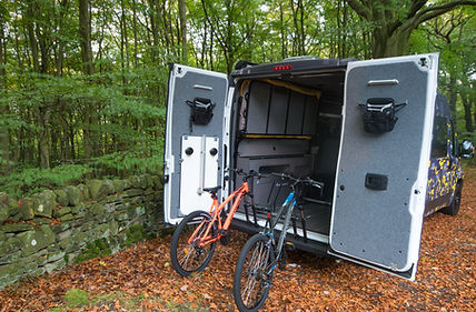 Kinder Scout Camper Van Conversion