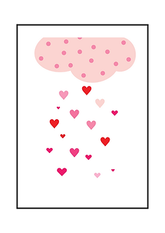 Heart Rain Poster